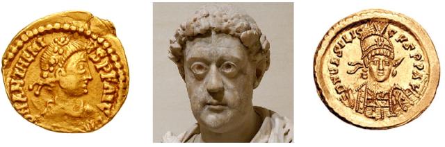 Anthemius (467-472), Leo I (457-474) and Basiliscus (475-476)