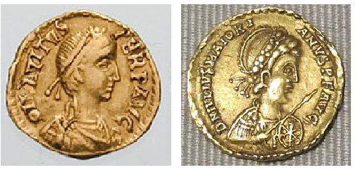 Avitus (455) and Majorian (456)