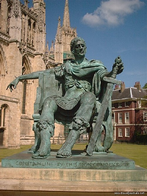 Constantine the Great proclaimed emperor in York 306-337