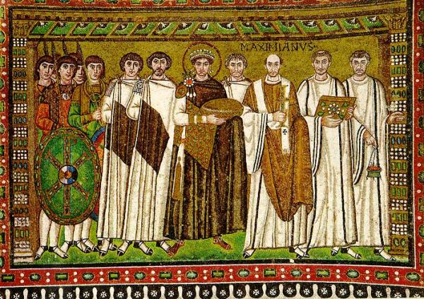 Emperor Justinian 527-565