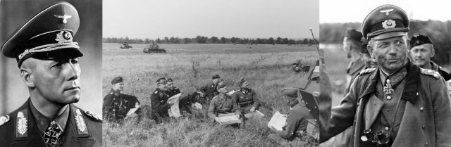 Erwin Johannes Eugen Rommel (1891-1944) & Heinz Guderian (1888-1954)