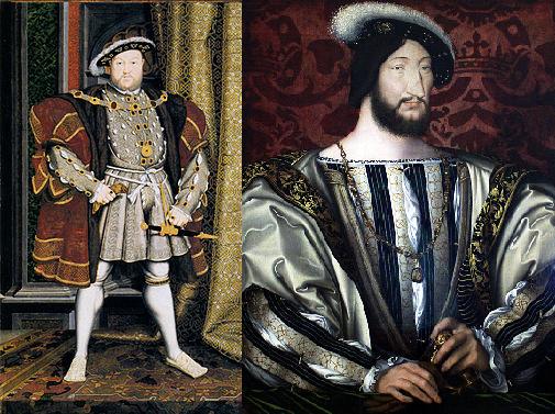 Henry VIII and Francois I