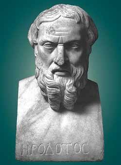 herodotus bust