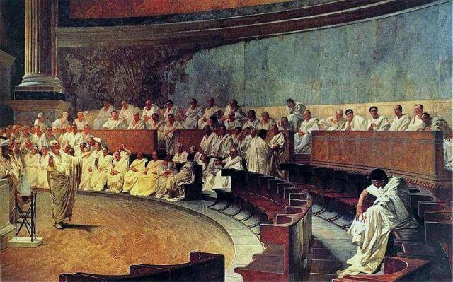 Maccari-Cicero denouncing Catiline