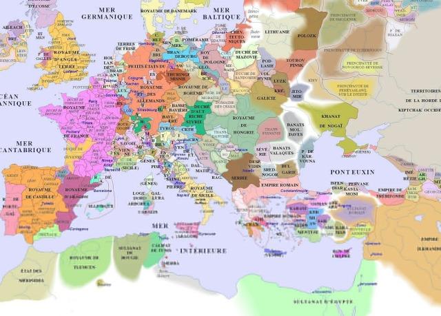 map of Europe (1300AD)_argentorum