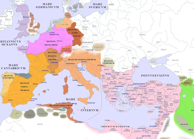 map of Europe (500AD)_argentorum