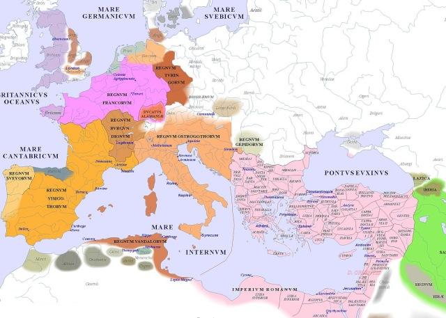 map of Europe (500AD)_argentorum