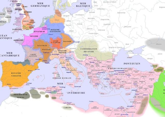 map of Europe (600AD)_argentorum