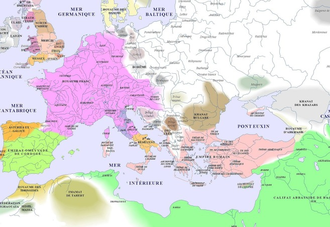 map of Europe (800AD)_argentorum