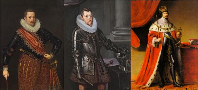 Mathias, Ferdinand II and Frederick V