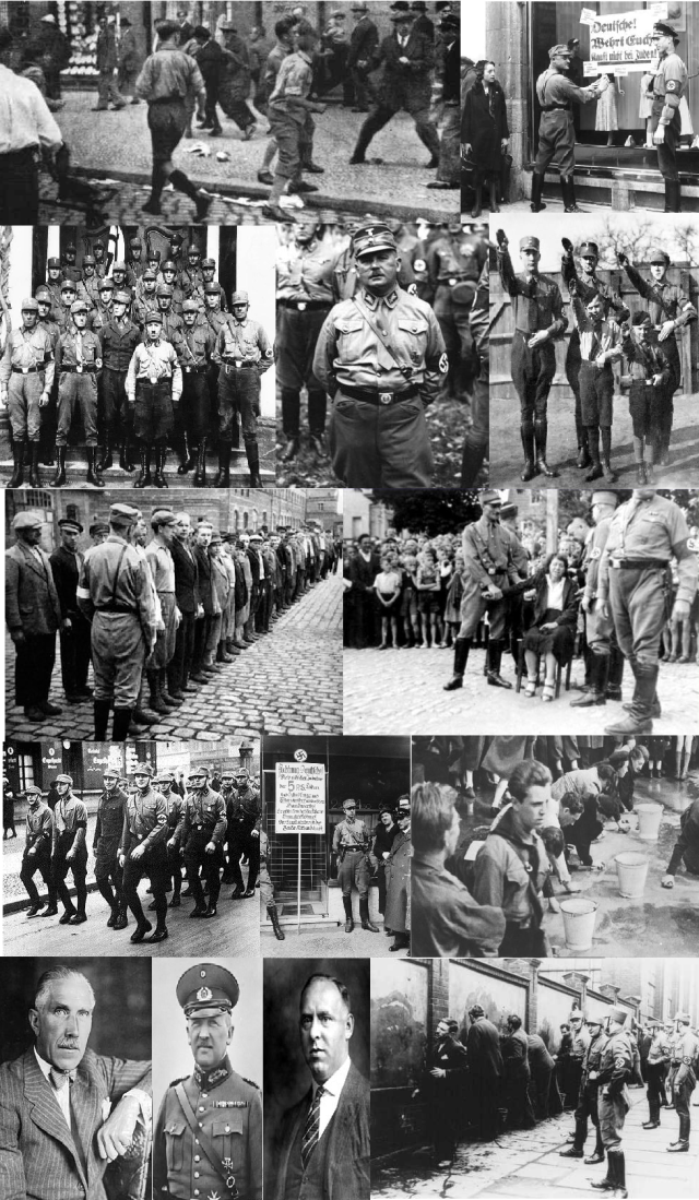 Night of the Long Knives 02.07.1934 - The image shows victims of the purge and SA perpetrators