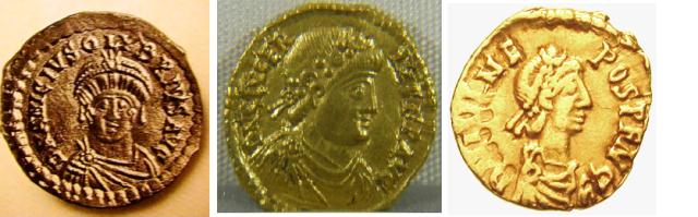 Olybrius (472), Glycerius (473-474) and Nepos (474-480)