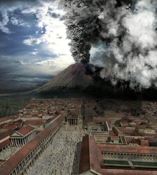 pompeii vesuvius eruption