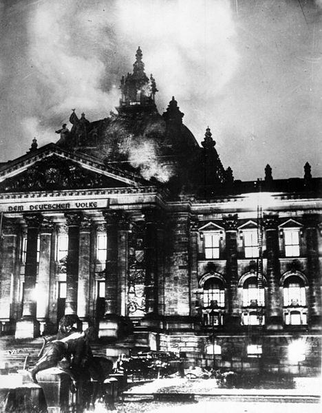 Reichstag fire 27 Feb 1933