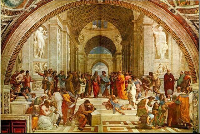 school_of_athens - Raphael