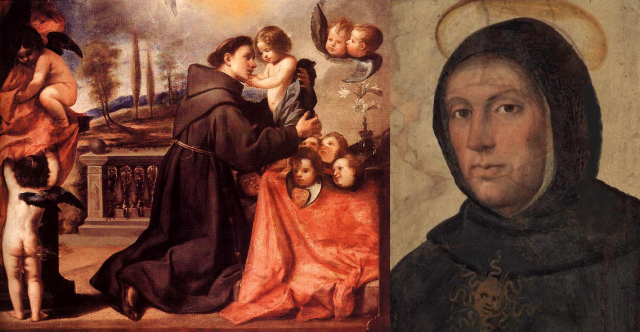 St Anthony of Padua-Lisbon and St Thomas Aquinas