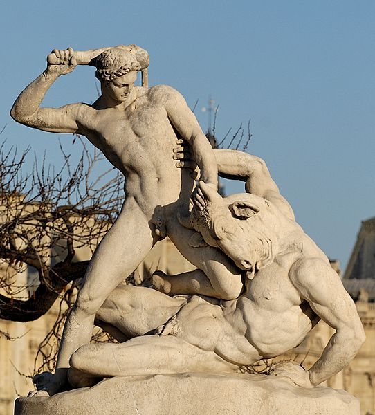 Theseus (giver of Institutions)_Minotaur_Ramey_Tuileries