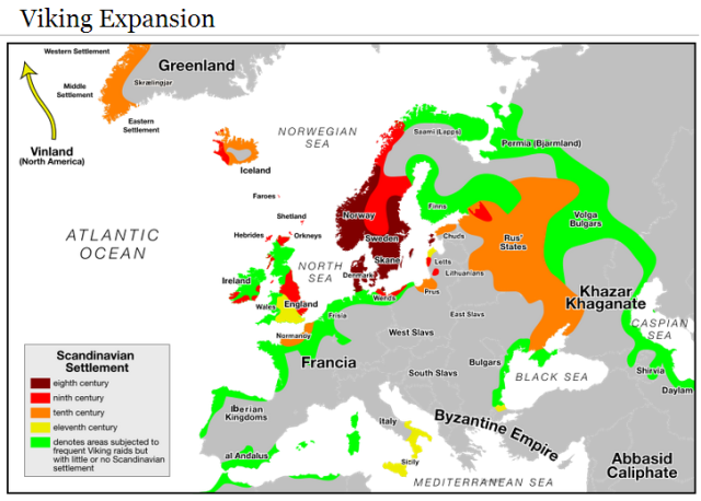 Viking Expansion_8th-11th century