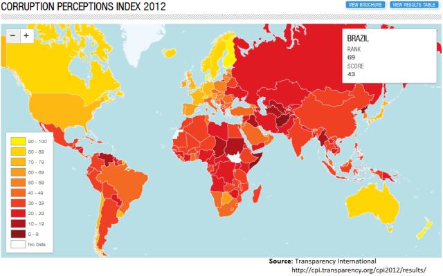 CPI BRazil 2012 - Map