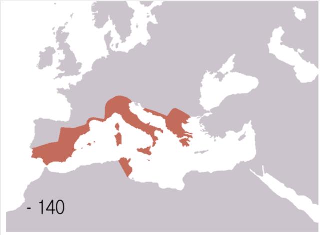 Roman Republic 140BCE