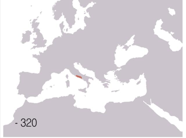 Roman Republic 320BCE